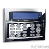 Texecom Premier Elite SMK Polished Chrome Keypad DBD-0127