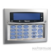 Texecom Premier Elite Satin Chrome SMK Keypad DBD-0129