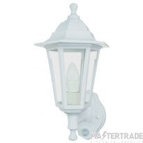 Timeguard CLLED45PIRWH Wall Lantern  LED & PIR detector
