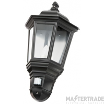 Timeguard CLLEDH44PIRB Wall Lantern  LED & PIR detector