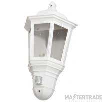 Timeguard CLLEDH45PIRWH Wall Lantern  LED &PIR