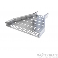 Trench Light Duty Cable Tray Reducers 100mm to 75mm