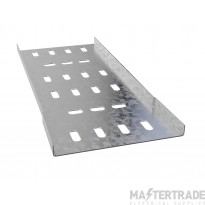 Trench Light Duty Cable Tray (100mmx3m) Pre-Galvanised