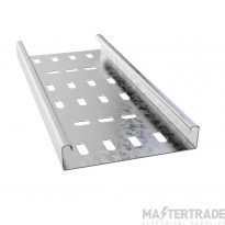 Trench Medium Duty Cable Tray (50mmx3m) Pre-Galvanised