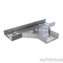 Trench Medium Duty Cable Tray Flat Tees (100mm) Pre-Galvanised