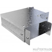 """Trench Cable Trunking Single Comp Flat 90 Bend  (3""""x3"""")"""