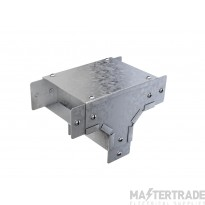 """Trench Cable Trunking Single Comp External  Lid Tee (3""""x3"""")"""