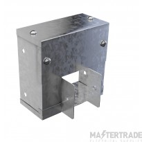 """Trench Cable Trunking Reducer (4""""x4"""") to (3""""x3"""")"""