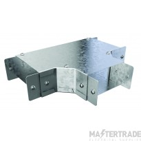 """Trench Cable Trunking Single Comp Top Lid Tee (4""""x4"""")"""