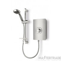 Triton ASP08BRSTL Electric Shower 8.5kw Brushed Steel