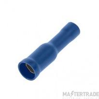 Unicrimp 4mm Female Auto Bullet Terminal - Blue