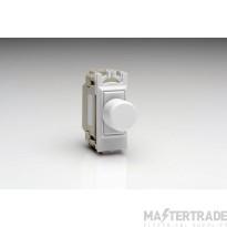 VARI GH0W Push Switch 2Way 1 Grid White