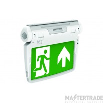 3W LED Emergency 6 in 1 Exit Sign - KIT Including all Accessories