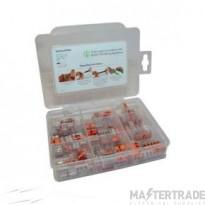 Wago Selector Box LEVER CASE - 85 CONNECTORS  (40 x 221-412 30 x 221-413 5x 221-415)