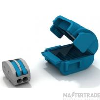 Wiska MJB112 Gel Insulation Junction Box Blue