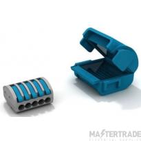 Wiska MJB215 Gel Insulation Junction Box Blue