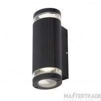 Forum Lighting ZN-35594-BLK Helix Black Aluminium Up/Down Wall Light GU10 2 x 35W .Max