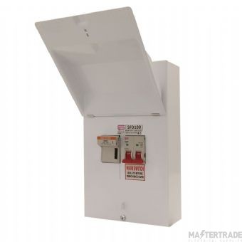 FuseBox SF0100 Switchfuse SPN 100A