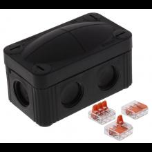 Wiska Adaptable Box 85x49x51mm Black 10109900