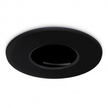 JCC JC010013/BL Fireguard NG Mains Twist and Lock Bezel Only IP20 Black