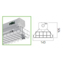 NVC Phoenix NPH/WG/LED/50 Wire Guard LED 50/75W 6Ft