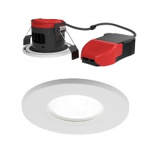 Ansell Lighting APRILEDP/CW Prism Pro Fire Rated Downlight 4000K