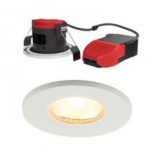 Ansell Lighting APRILEDP/WW Prism Pro Fire Rated Downlight 3000K