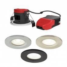 Ansell Lighting APRILEDP/CCT Prism Pro Fire Rated Downlight CCT Colour Selectable