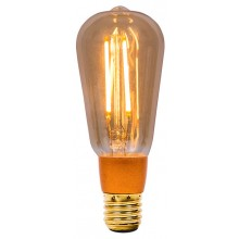BELL 1469 4W LED Vintage Squirrel Cage Dimmable - ES, Amber, 2000K