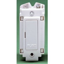 Crabtree Rockergrid White 13A Fuse Unit 4436