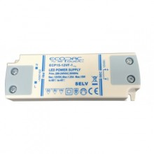 ECOPAC LED DRIVER ECP15-12VF-1 SERIES 15W  Contant Voltage Fixed Outout 12volt DC