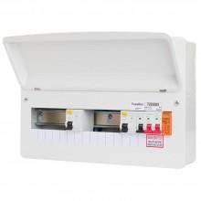 FuseBox F2010DXA Consumer Unit 10Way SPD 2x80A