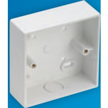 Falcon SB1SC Surface Box 1G 32mm  Square Corner