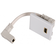 Hager WMMHDMI Module HDMI Euro White