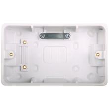 Hager WMPB2/46CC Surface Box Twin 46mm