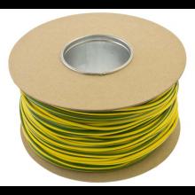 Unicrimp 100m x 5mm PVC Earth Sleeving - Green/Yellow