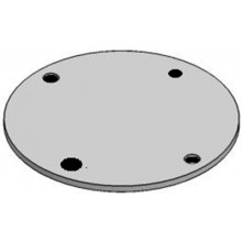 MetPro BL3G 32Mm 4 Hole Box Lid - Galv