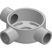 MetPro ET4G 20Mm Extension Tee Box - Galv