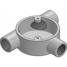 MetPro MB17G 20Mm Tangent Tee Box - Galv
