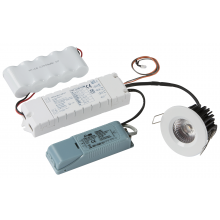 Knightsbridge VFR7EM LED Emergency Recessed Downlight Conversion Kit 3hrM 7W