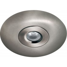 Knightsbridge 65mm-130mm Hole Converter for VFR Fixed Fire Rated Downlights Nickel VFRCBC