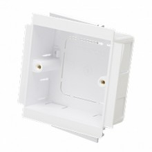 Marco MTSB1-25 Socket Box 1G 25mm White