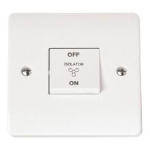 Click Mode 10A 3 Pole Fan Isolator Switch CMA020