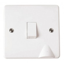 Click Mode 20A Double Pole Switch with Flex Outlet