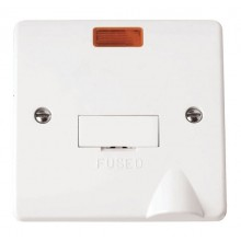 Click Mode 13A Unswitched Fused Spur Neon + Flex Outlet CMA053