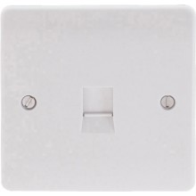 Click Mode Single 1 Gang Cat-5E Socket Outlet CMA131