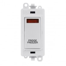 Click GridPro 20AX Switch DP Module c/w Neon - White Insert White GM2018NPW-FF
