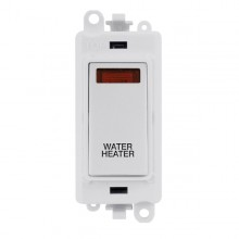 Click GridPro 20AX Switch DP Module c/w Neon - White Insert White GM2018NPW-WH