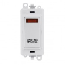 Click GridPro 20AX Switch DP Module c/w Neon - White Insert White GM2018NPW-WM