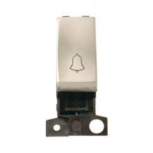 Click MiniGrid MD005SC Satin Chrome 1 Way Retractive Sw Mod Bell